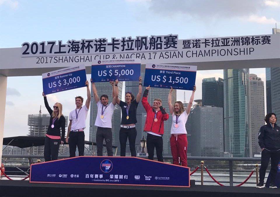 Anette og Mathias vinder bronze til Shanghai Cup