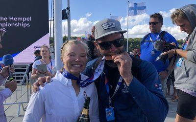 Rindom vinder VM bronze i Aarhus