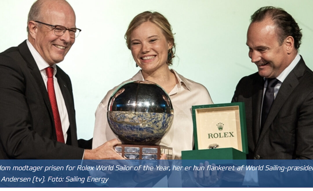 Anne-Marie Rindom – Rolex World Sailor of the Year