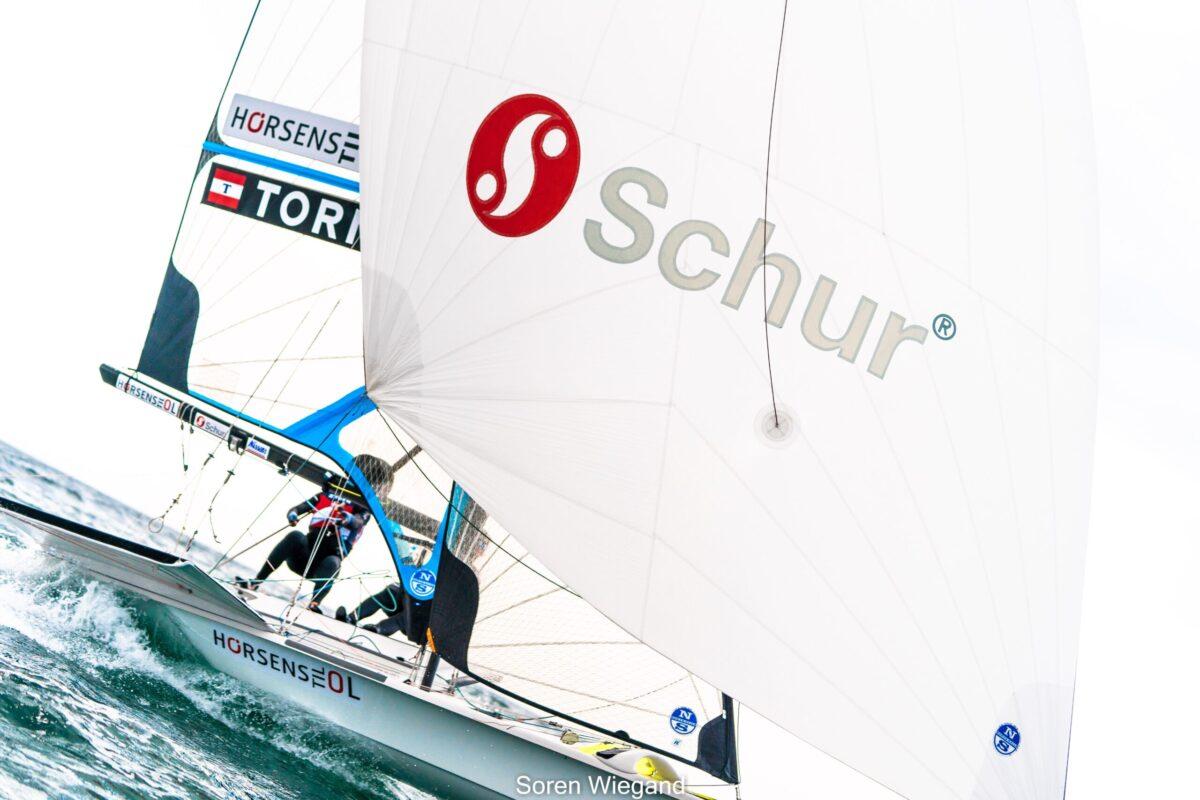 Team Iben og AJ sejler VM og 1. OL udtagelse fra 2.-8. december